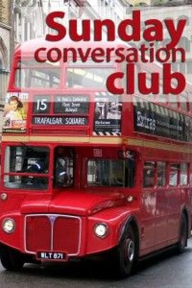 Sunday conversation club!