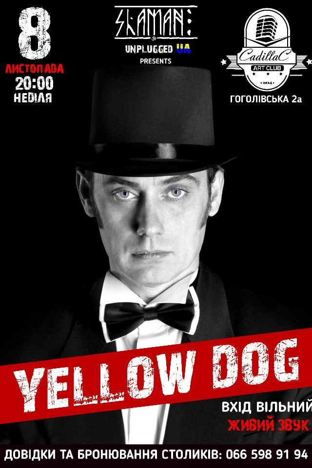 Yellow Dog в Cadillac Art Club