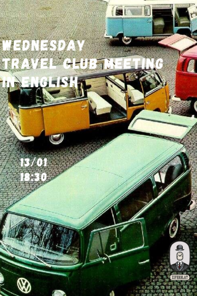 Wednesday Travel Club Meeting in English